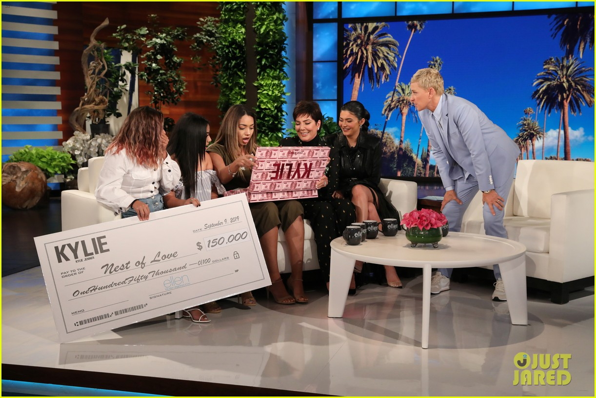 kylie jenner says her sisters tease her about being a billionaire on ellen 074348960