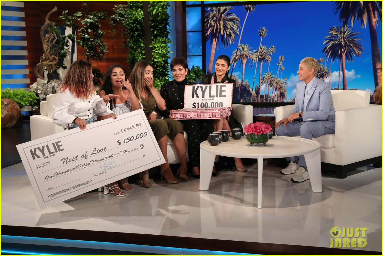 kylie jenner says her sisters tease her about being a billionaire on ellen 084348961
