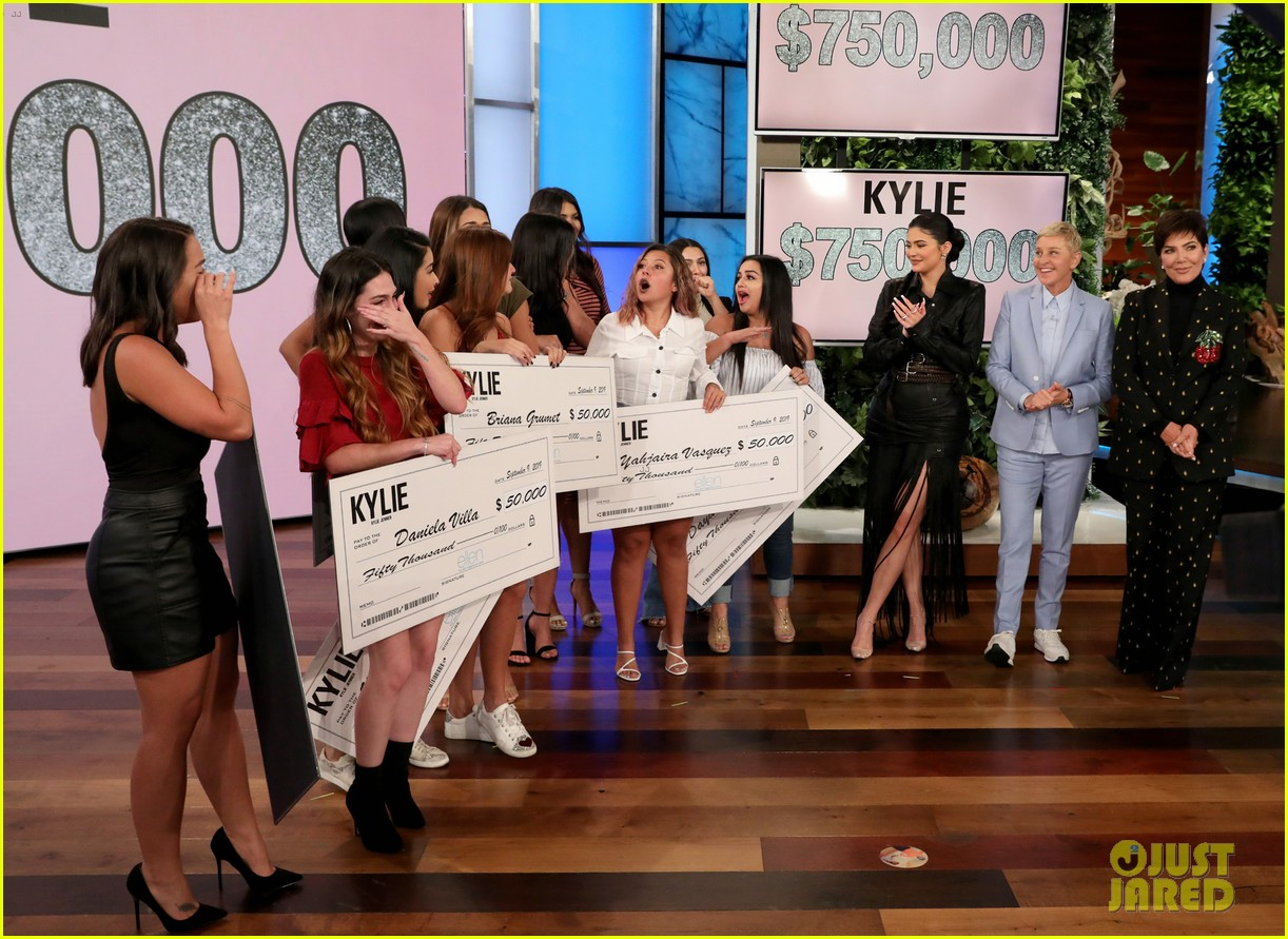 kylie jenner says her sisters tease her about being a billionaire on ellen 094348962