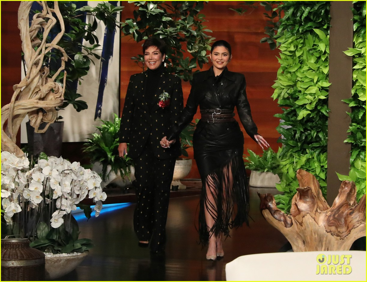 kylie jenner says her sisters tease her about being a billionaire on ellen 104348963