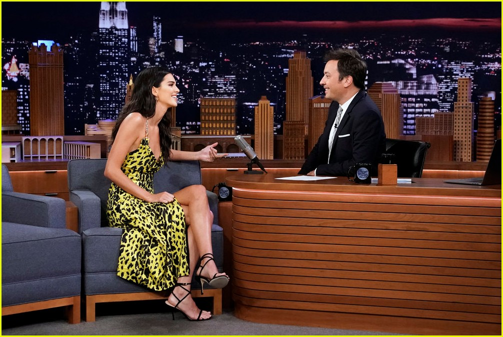 kendall jenner was so nervous to meet brad pitt kanye wests sunday service 014346196