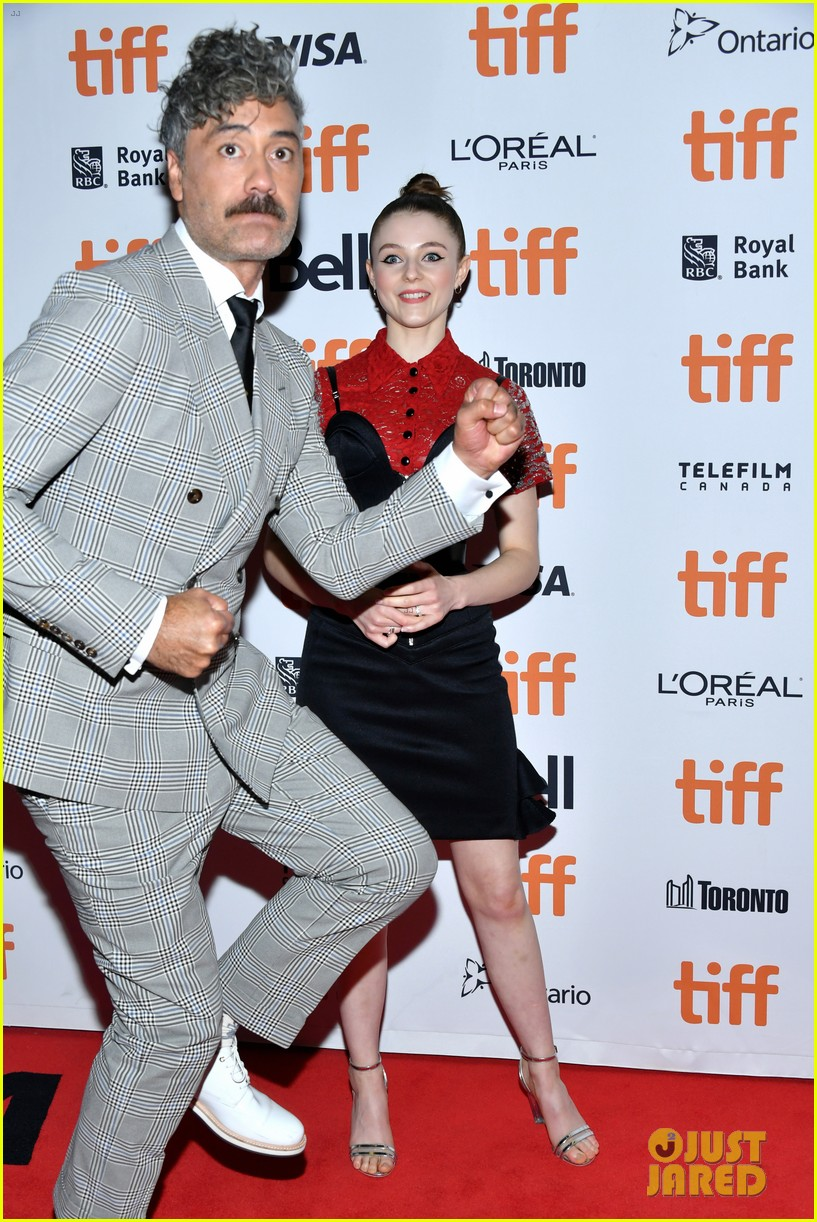 Sam Rockwell Jojo Rabbit >> Scarlett Johansson Sam Rockwell More Premiere Jojo