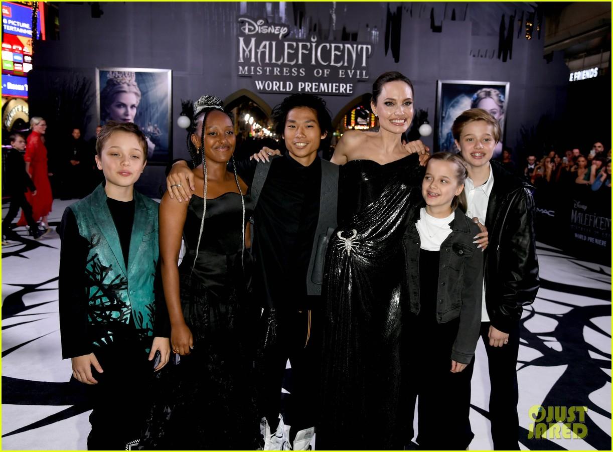angelina jolie brings her kids to maleficent world premiere 044363217