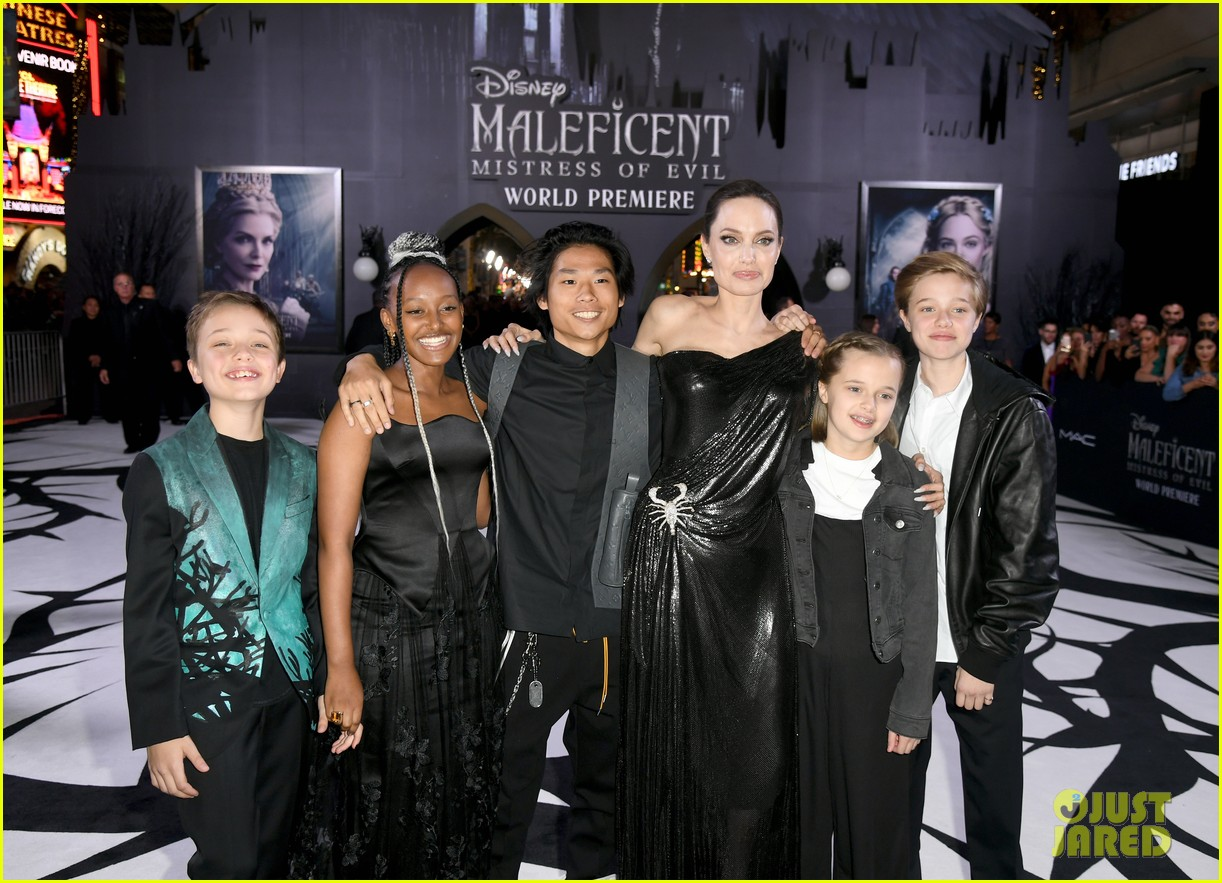 angelina jolie brings her kids to maleficent world premiere 064363219