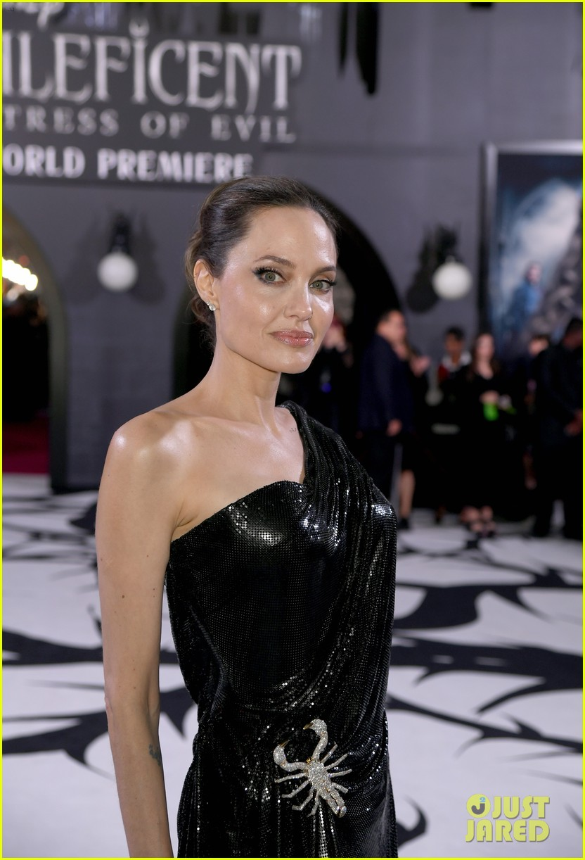 Angelina Jolie Brings Her Kids To Maleficent 2 World