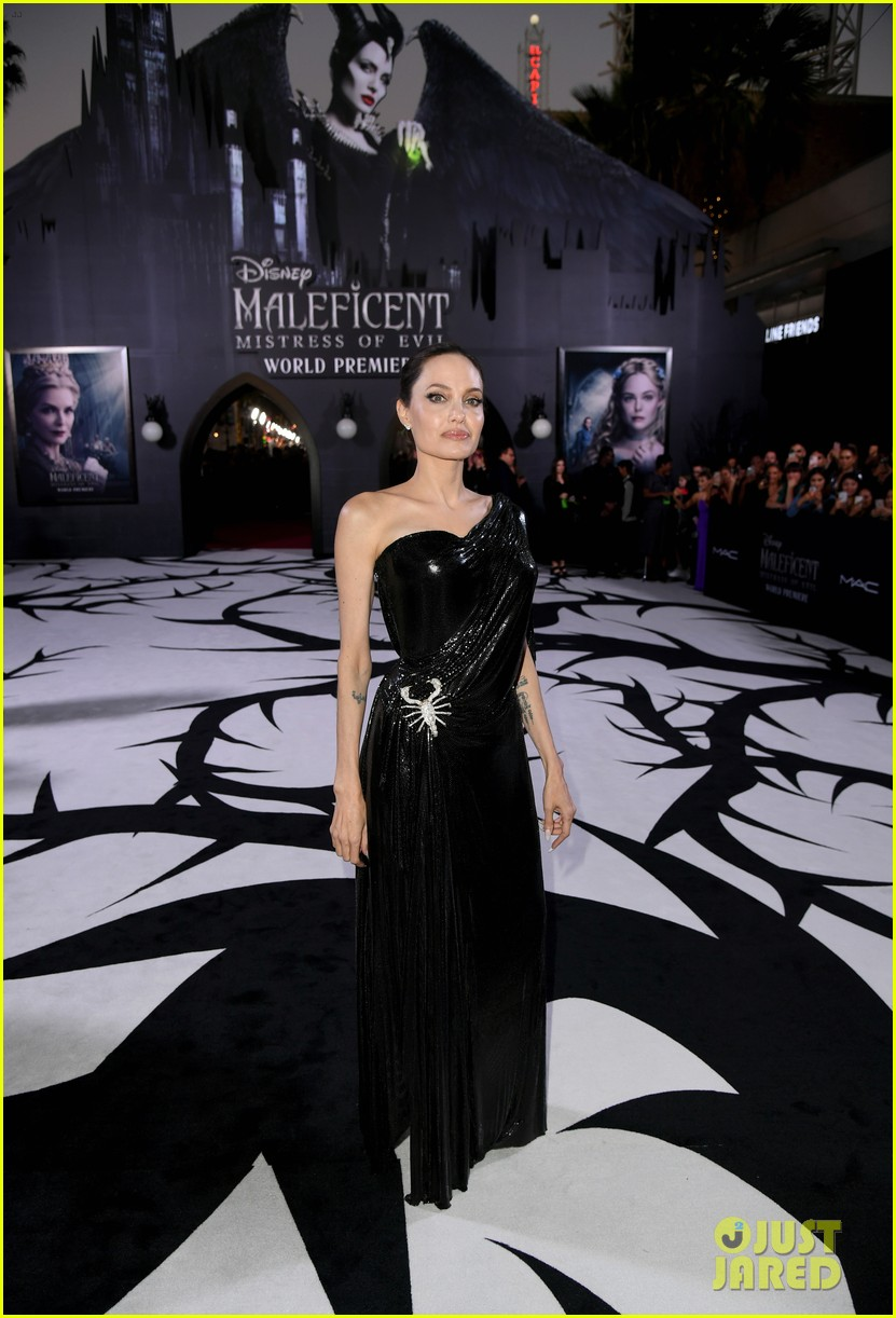 Angelina Jolie Brings Her Kids To Maleficent 2 World