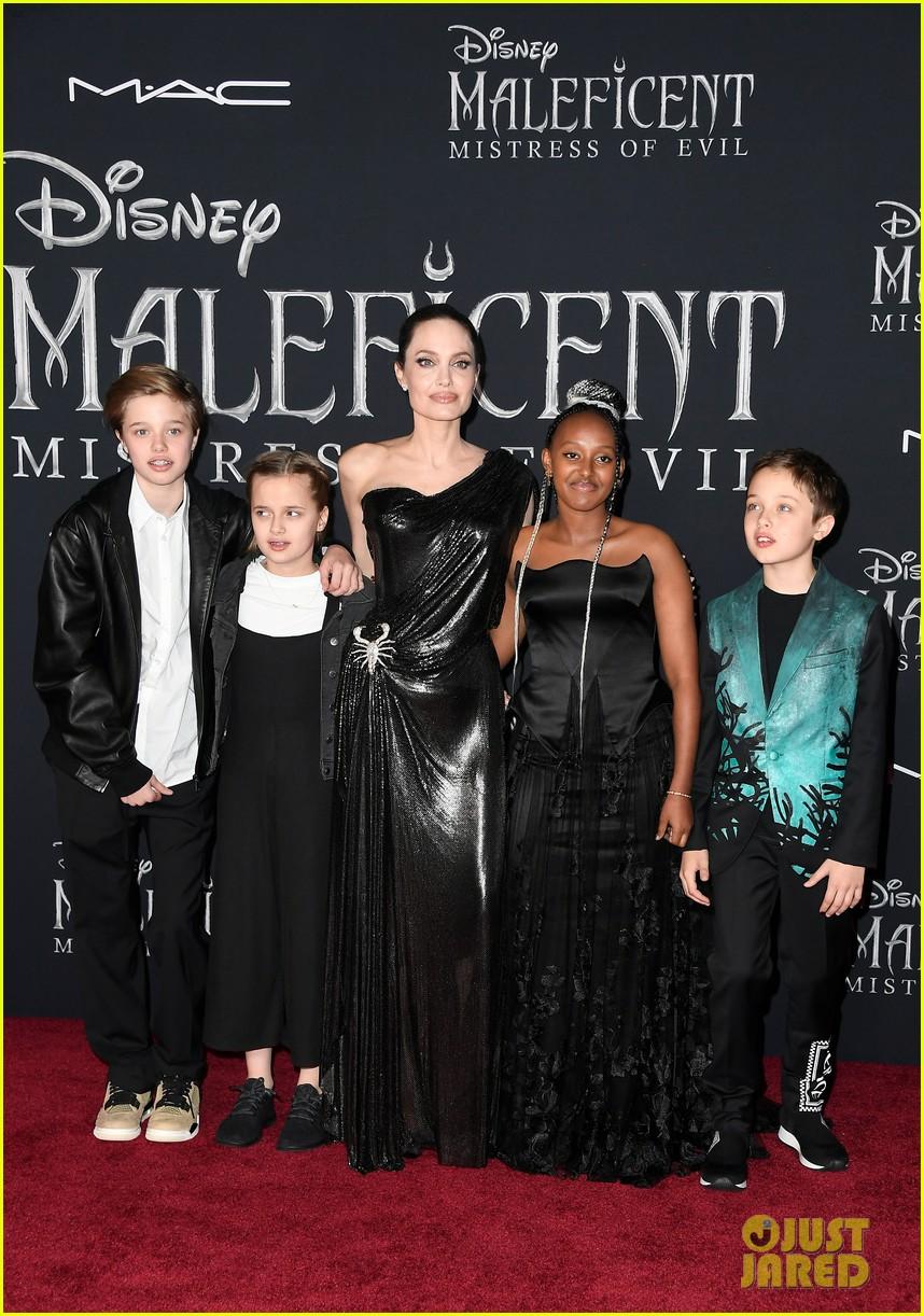 angelina jolie brings her kids to maleficent world premiere 144363227