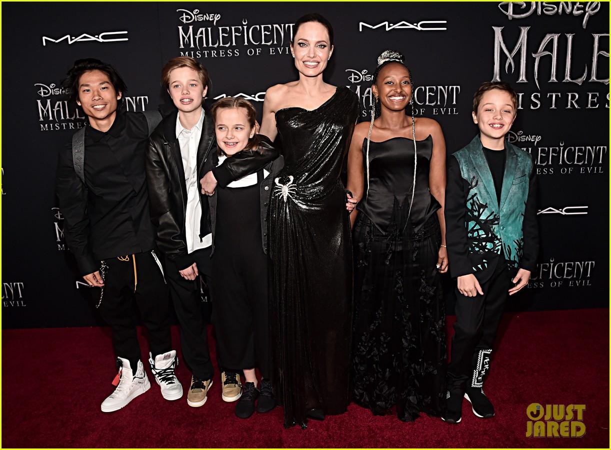 angelina jolie brings her kids to maleficent world premiere 304363243