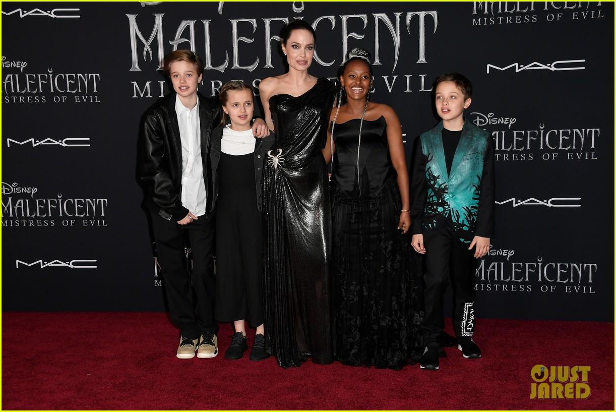 angelina jolie brings her kids to maleficent world premiere 504363263