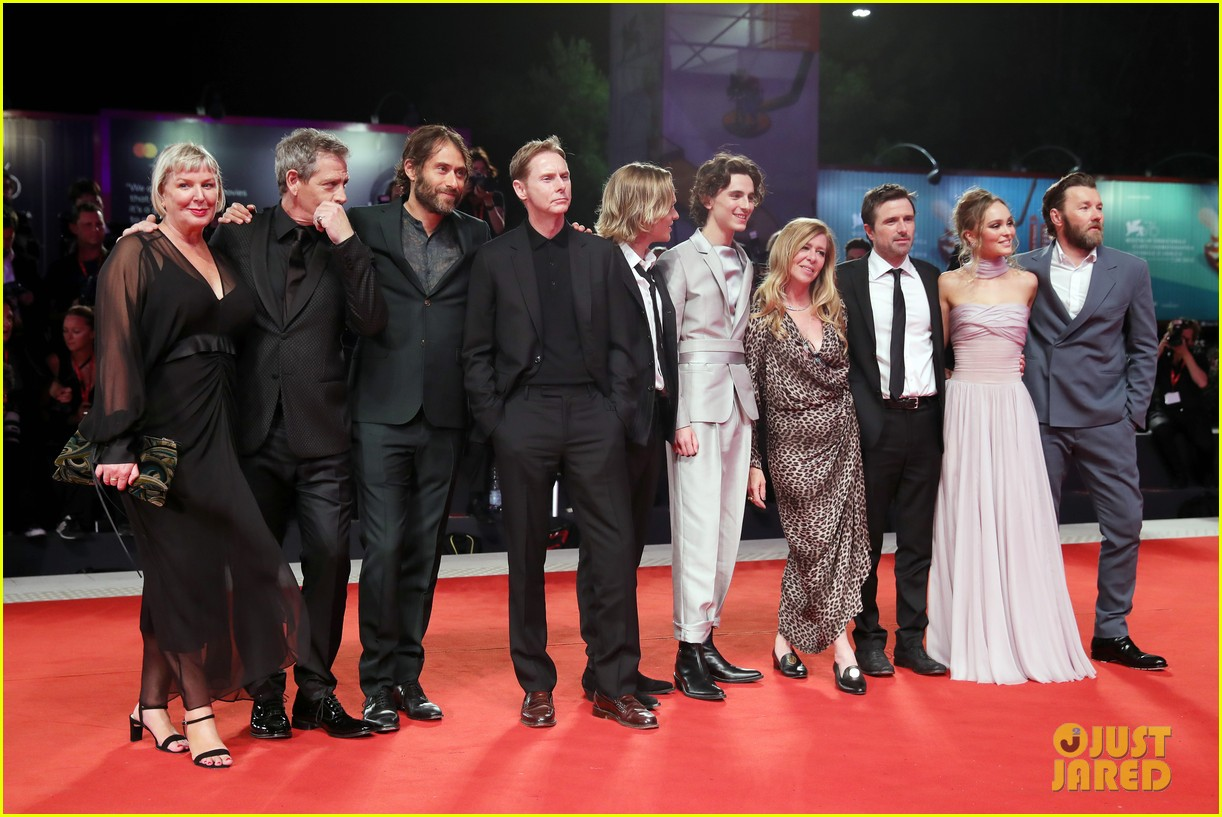 timothee chalamet lily rose depp the king venice premiere 294344023