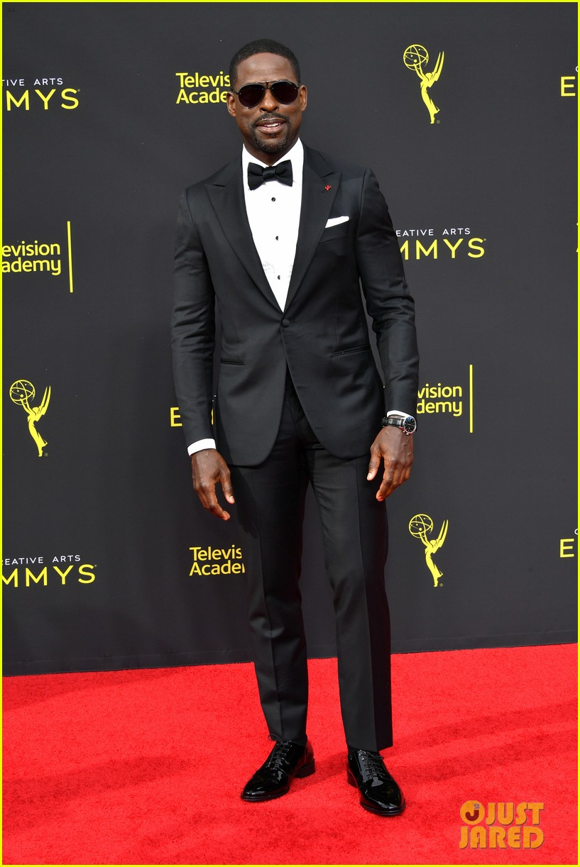 sterling k brown this is us co star michael angarano creative arts emmy awards 064353298
