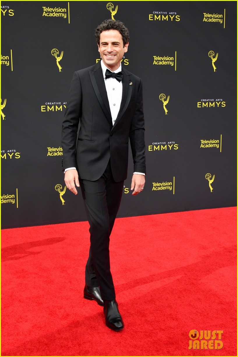 sterling k brown this is us co star michael angarano creative arts emmy awards 144353306