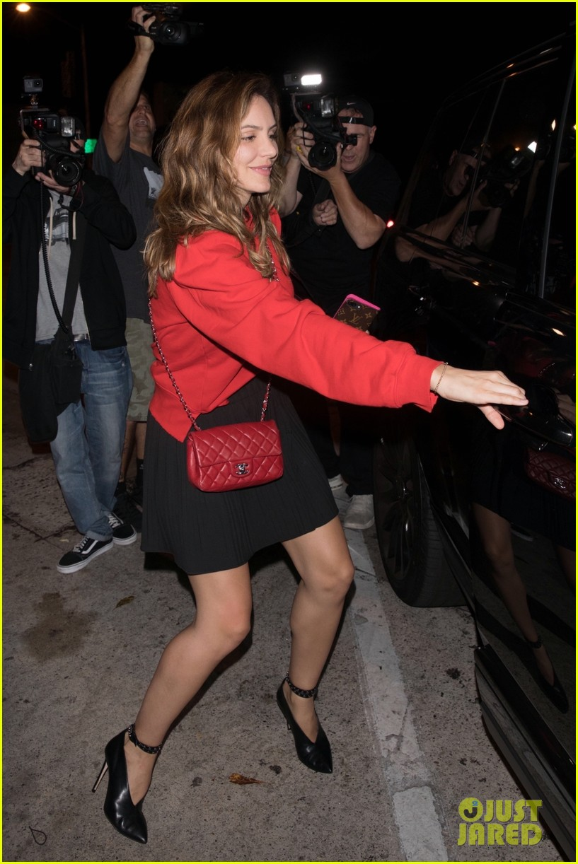 katharine mcphee dinner at craigs david foster 034344128