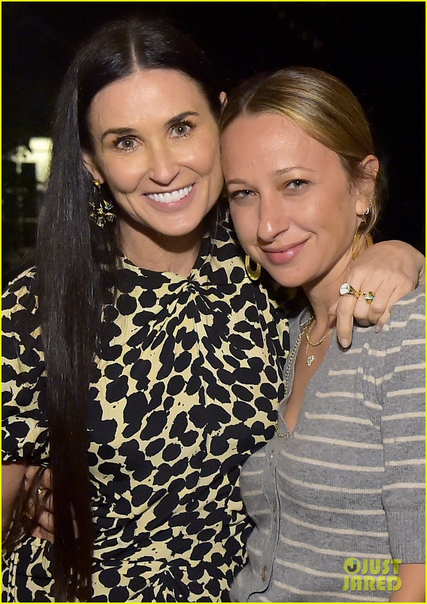 Demi Moore is Joined b...