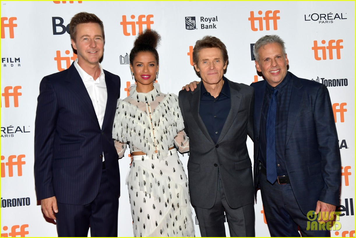 edward norton gugu mbatha raw willem dafoe motherless brooklyn tiff 054350836