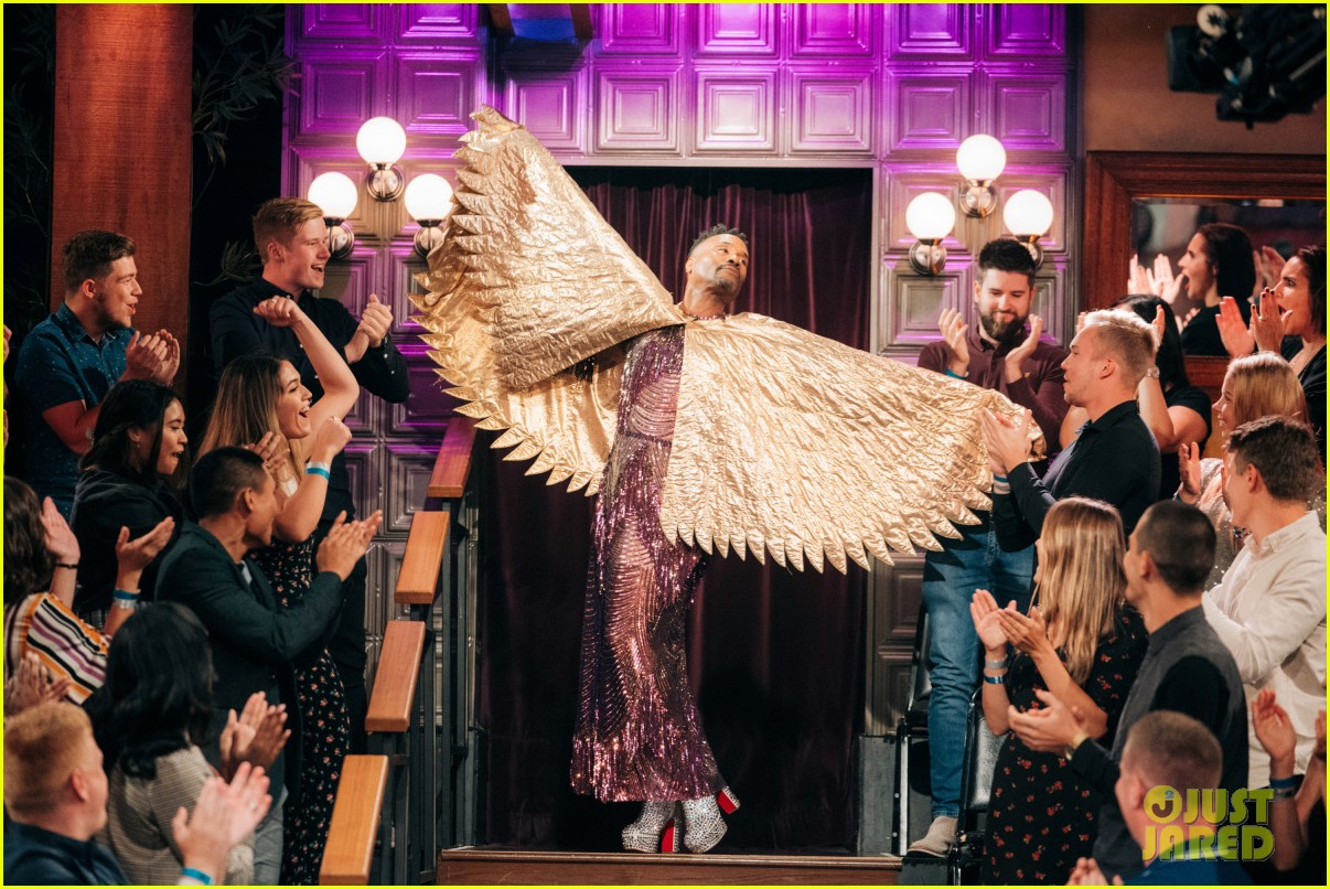 billy porter celebrates 50th birthday early with grand entrance on late late show 054355288