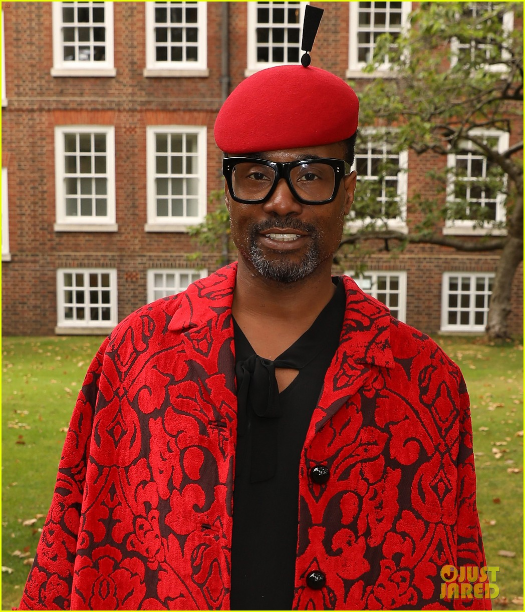 billy porter rocks show stopping looks at london fashion week 2019 024353517