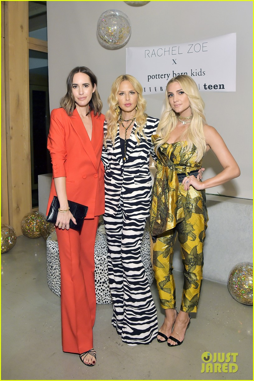 Ashlee Simpson Amp More Support Rachel Zoe At Pottery Barn