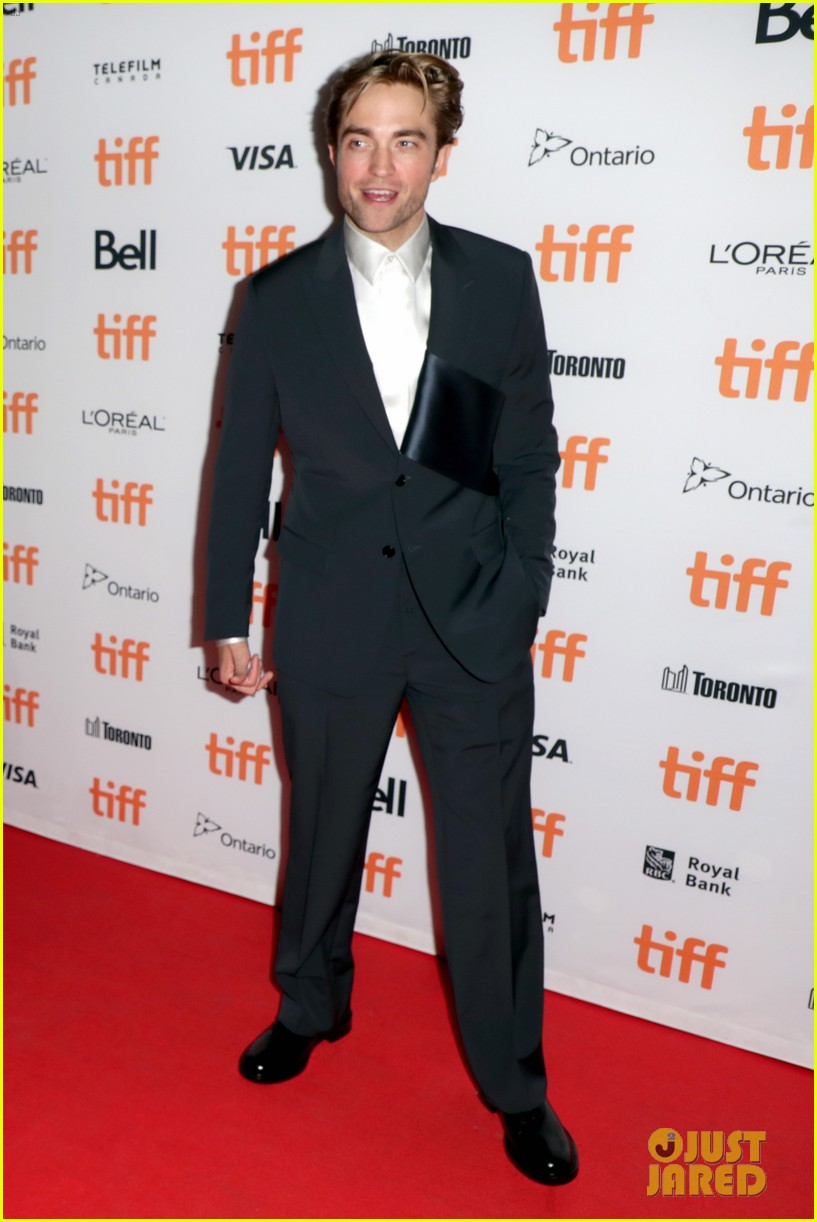 robert pattinson attends the lighthouse premiere at tiff 014347821