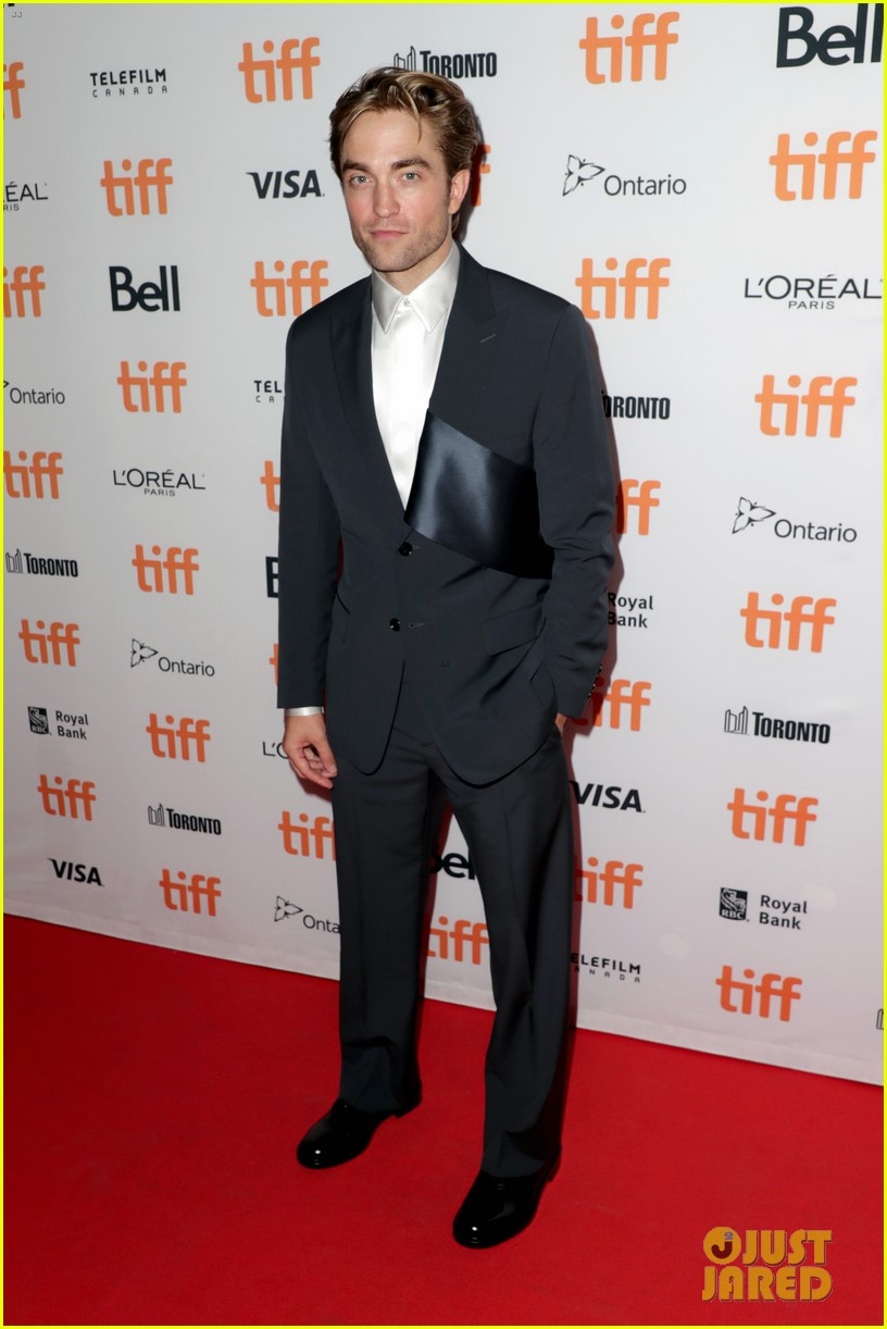robert pattinson attends the lighthouse premiere at tiff 054347825