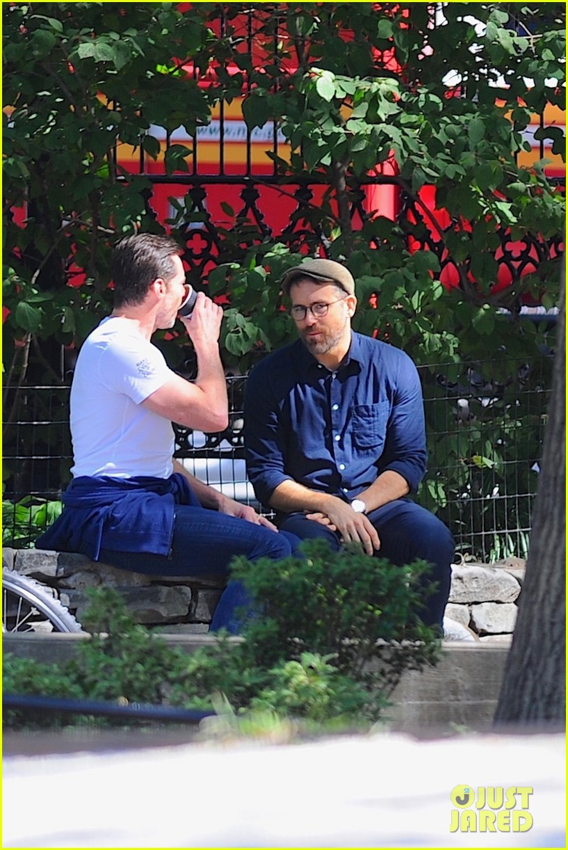 ryan reynolds hugh jackman nyc september 2019 104355932