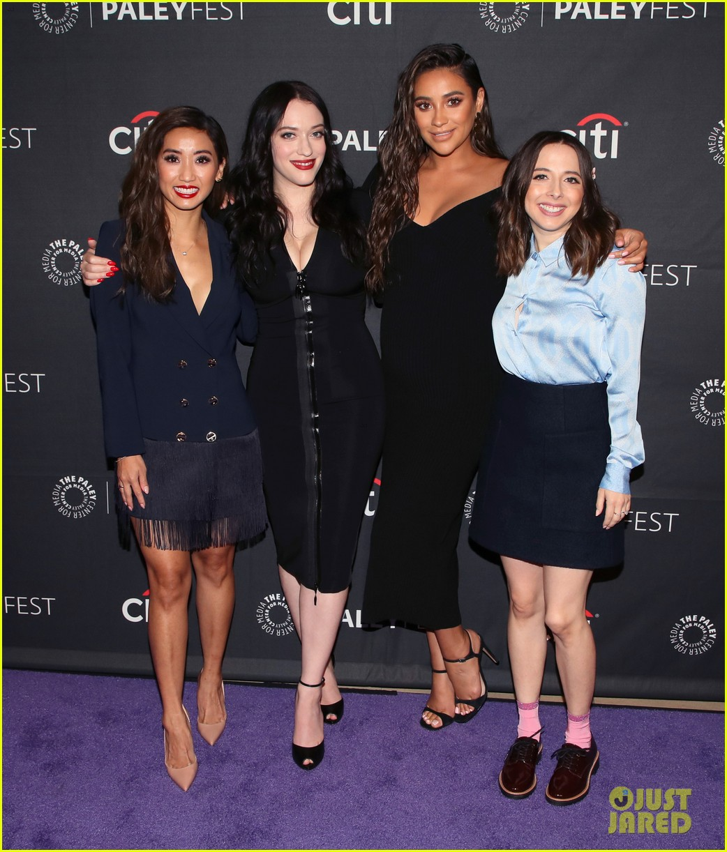 shay mitchell dollface cast at paley 034350798