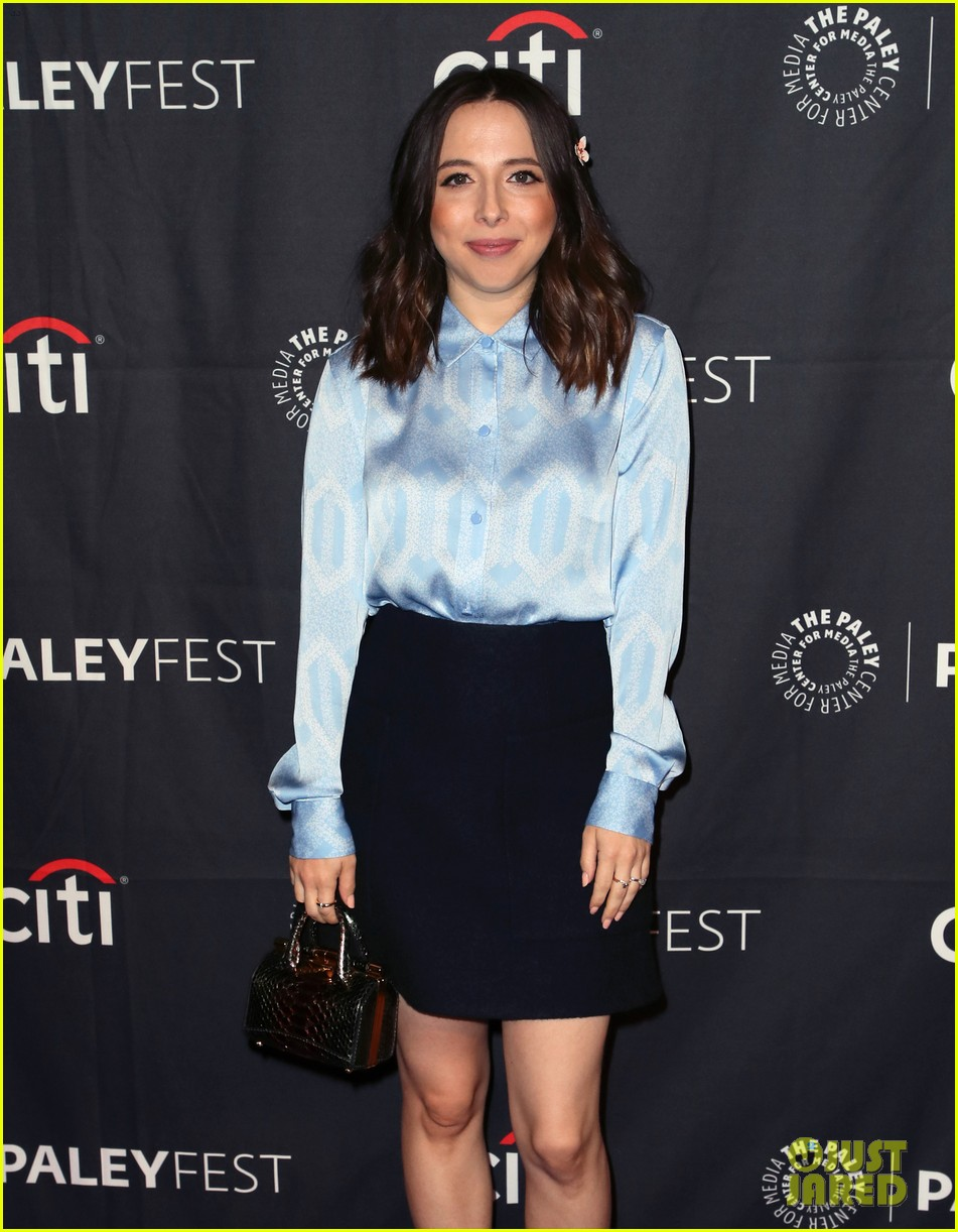 shay mitchell dollface cast at paley 264350821