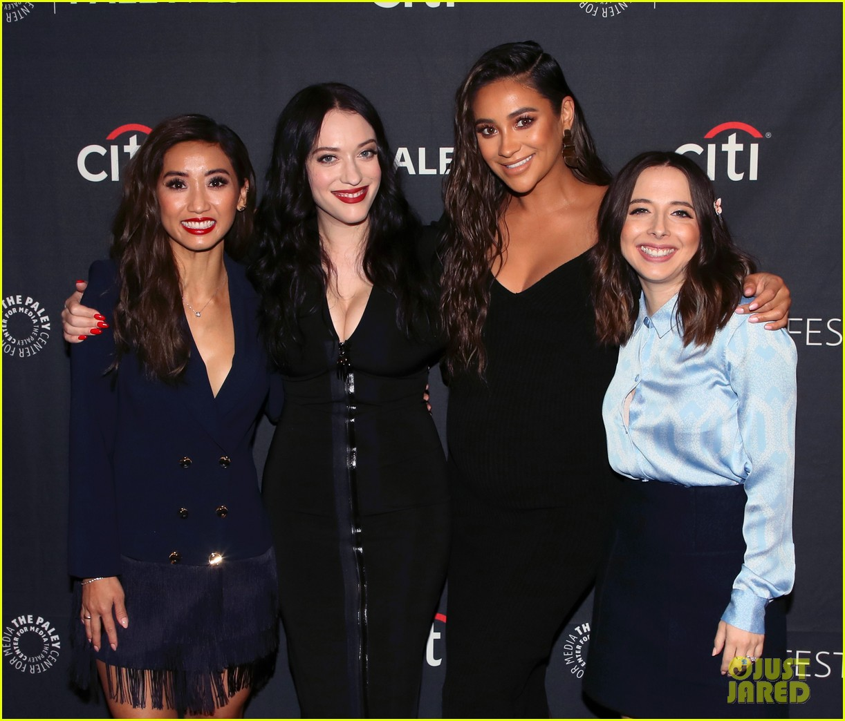 shay mitchell dollface cast at paley 294350824