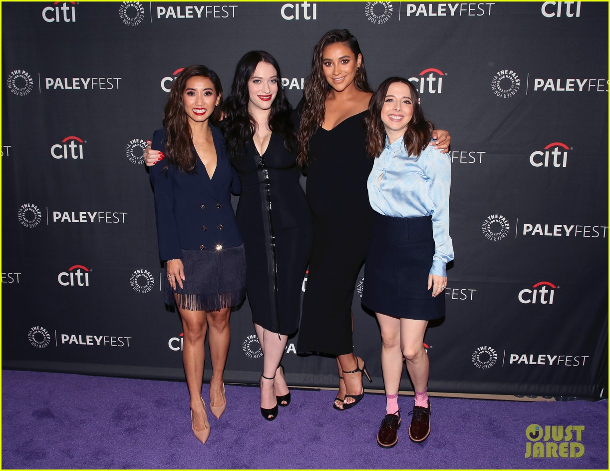 shay mitchell dollface cast at paley 304350825