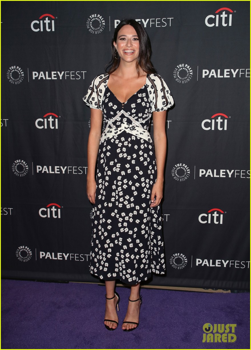 shay mitchell dollface cast at paley 334350828