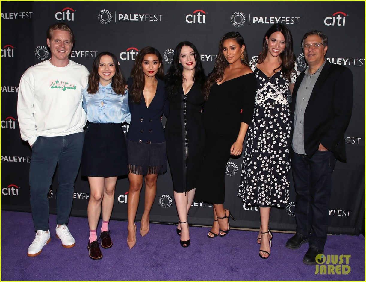 shay mitchell dollface cast at paley 364350831
