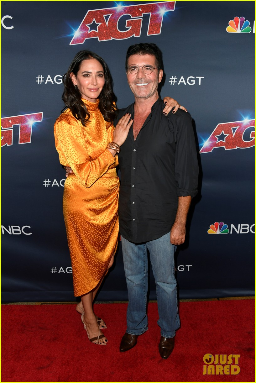 simon cowell lauren silverman pack on the pda agt finals 114354683