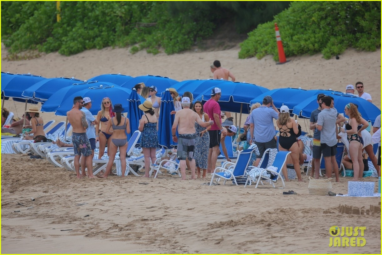 miles teller nina dobrev at the beach hawaii 144344070