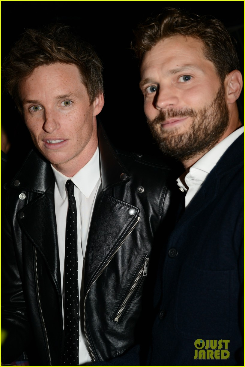 jamie dornan eddie redmayne meet up tiff 024348174