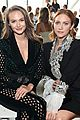 brittany snow victoria justice meet up at raisavanessa fashion show 13