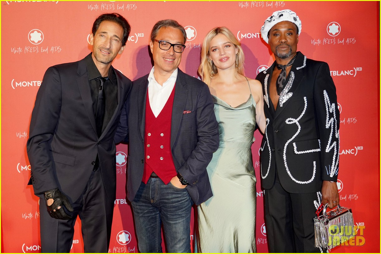 adrien brody montblanc red launch event 034368620