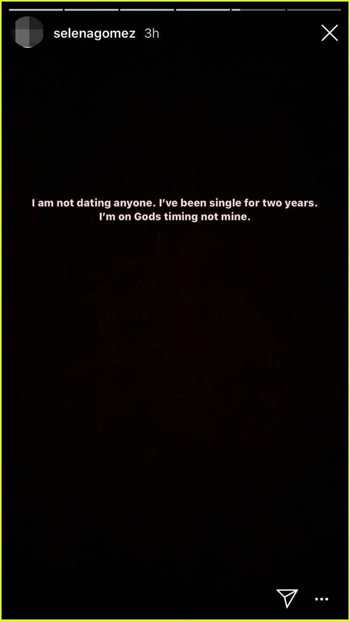 selena gomez addresses dating rumors 014379529