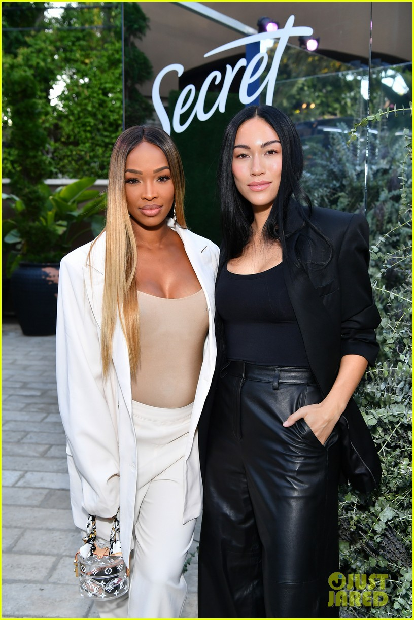 malika haqq makes first pregnant appearance at secret with essential oils launch party 134364219
