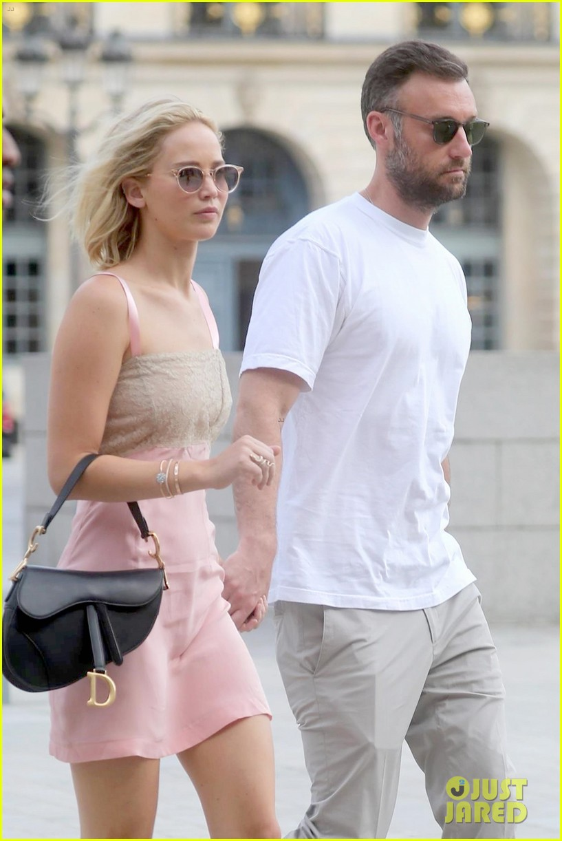 Jennifer Lawrence and Husband Cooke Maroney Step Out in