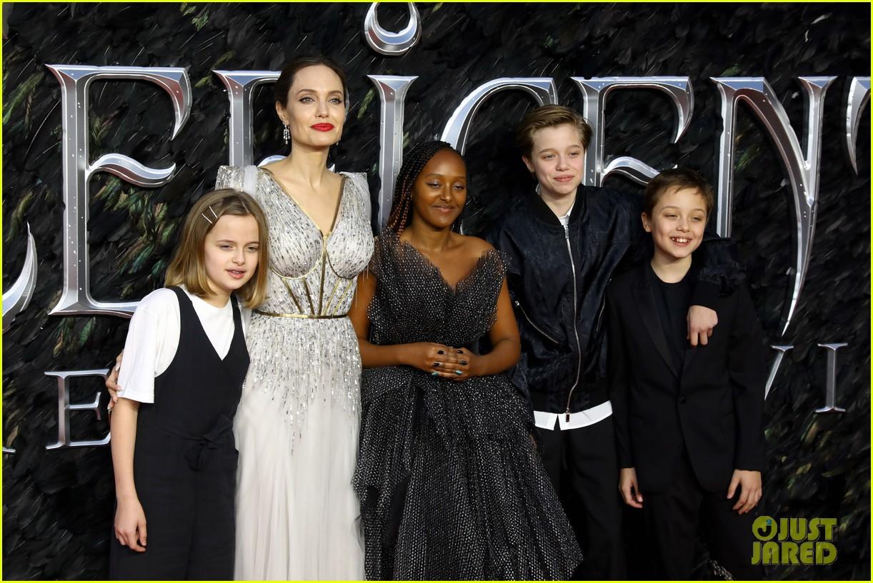 angelina jolie maleficent premiere kids 014368553