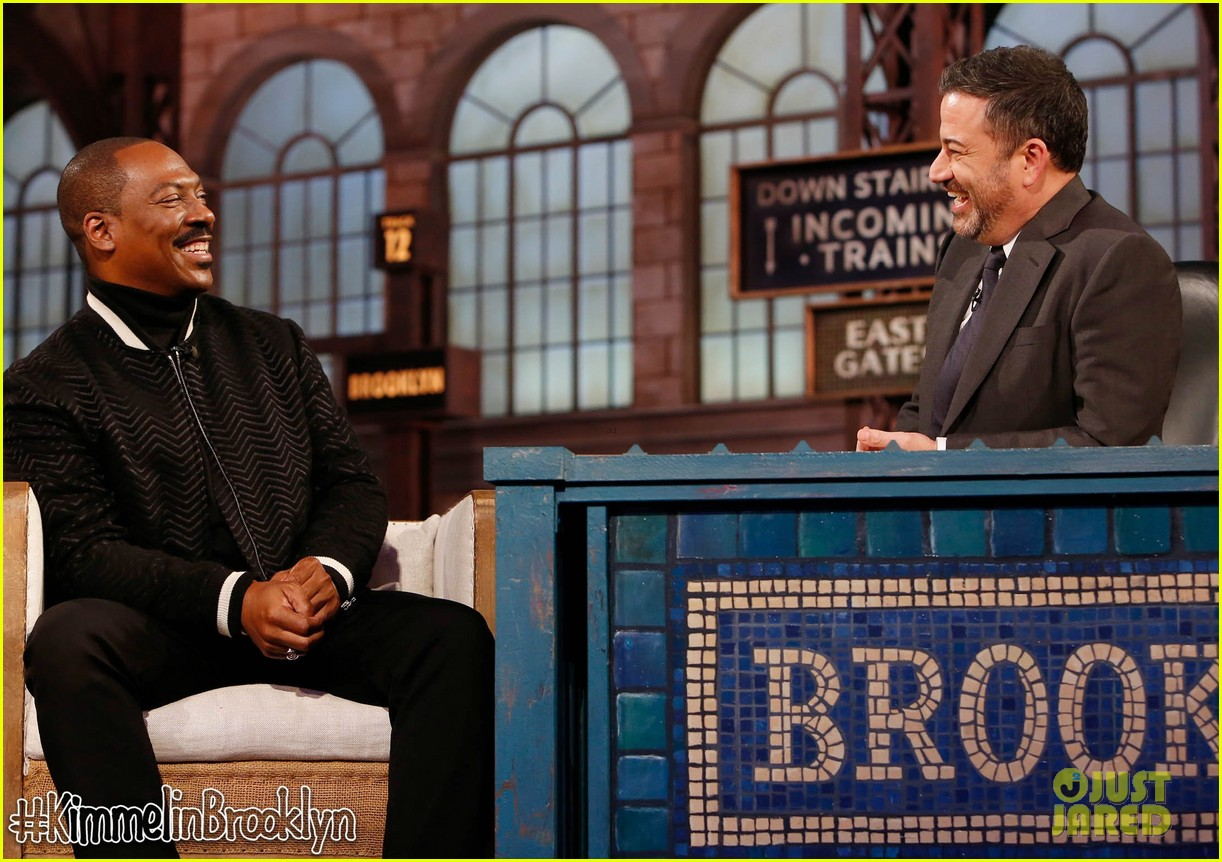 eddie murphy tells kimmel he wants to make stand up comedy return funny as possible 034376568