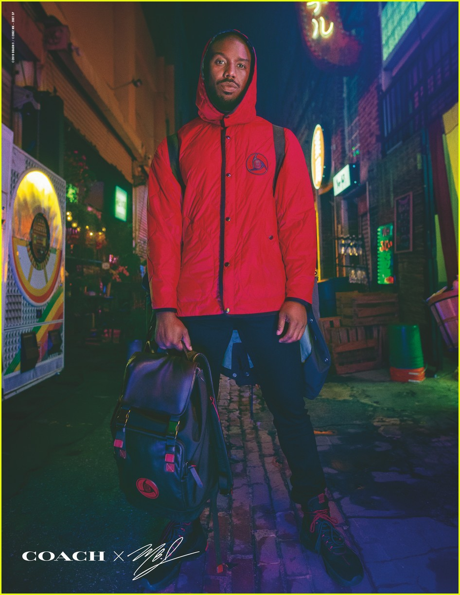 Michael B. Jordan lança linha de roupas inspirada em Naruto