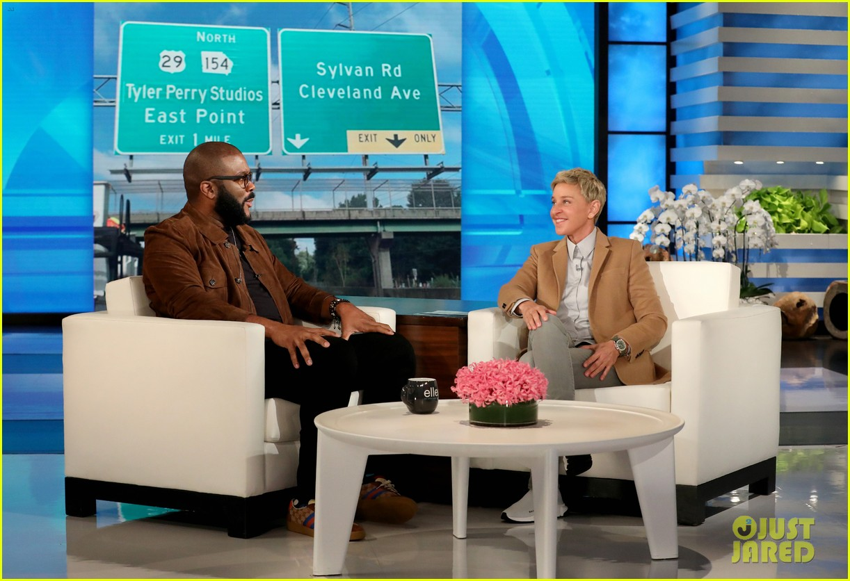 tyler perry gives young dylan a life changing surprise on ellen 024364322