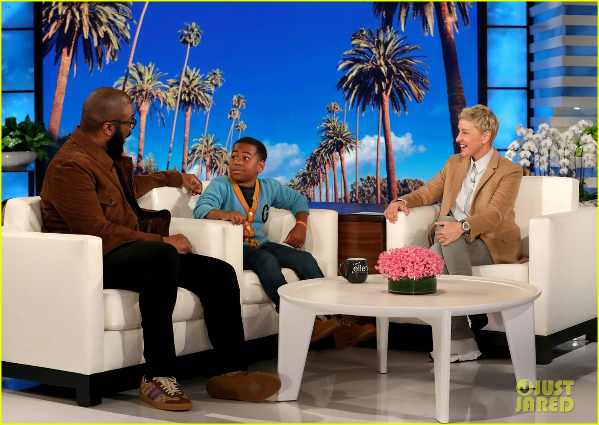 tyler perry gives young dylan a life changing surprise on ellen 054364325