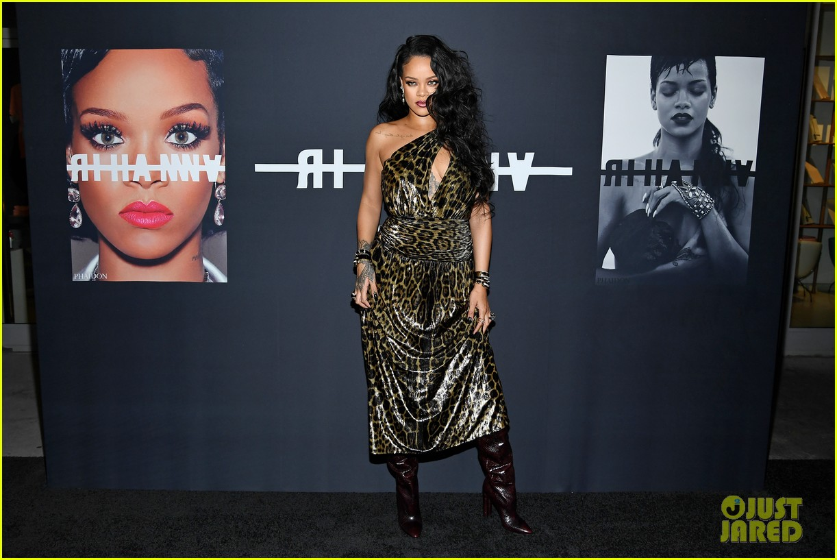 Image result for rihanna at autobiography launch party