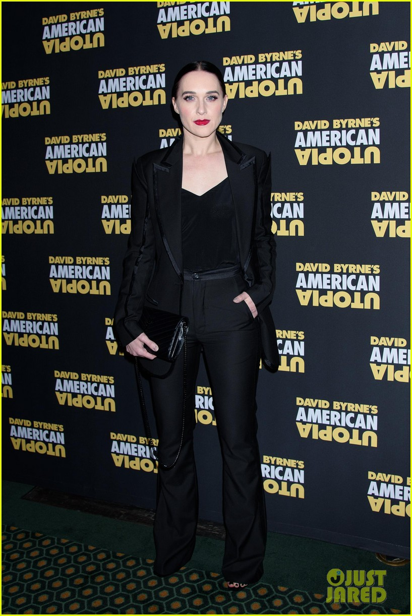 florence welch dazzles in silver american utopia opening night 084374438