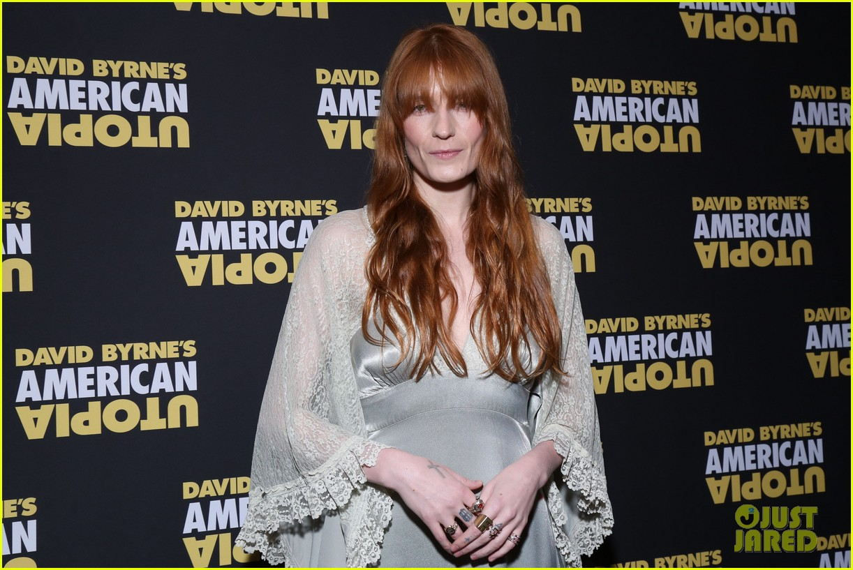 florence welch dazzles in silver american utopia opening night 144374444