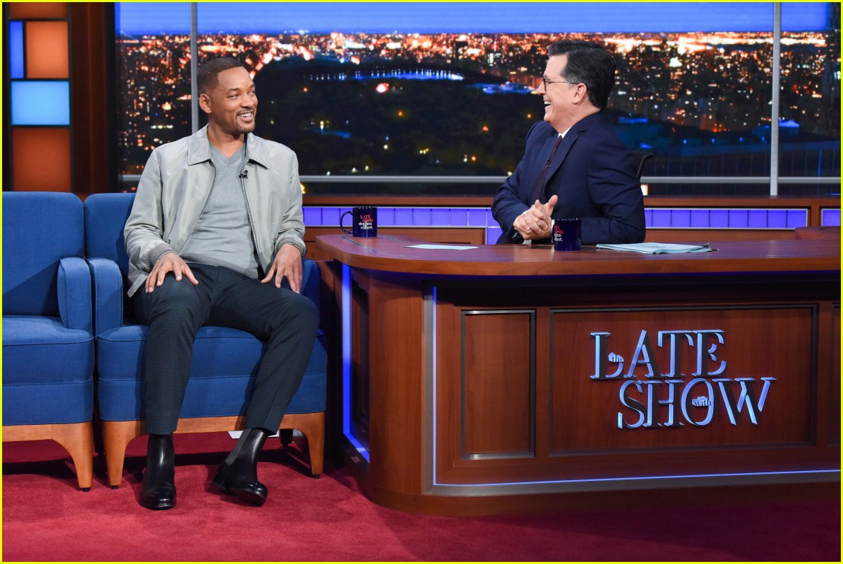 will smith late show stephen colbert appearance 014368505