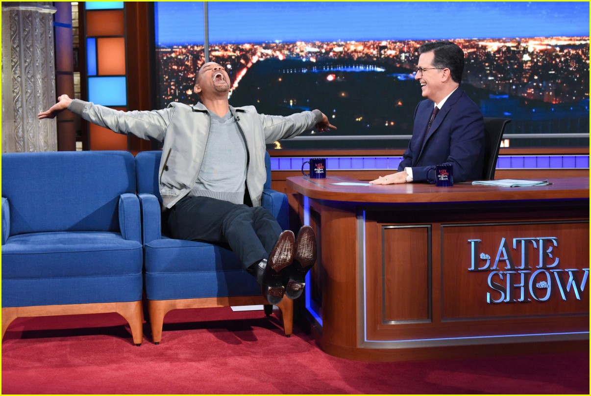 will smith late show stephen colbert appearance 054368509