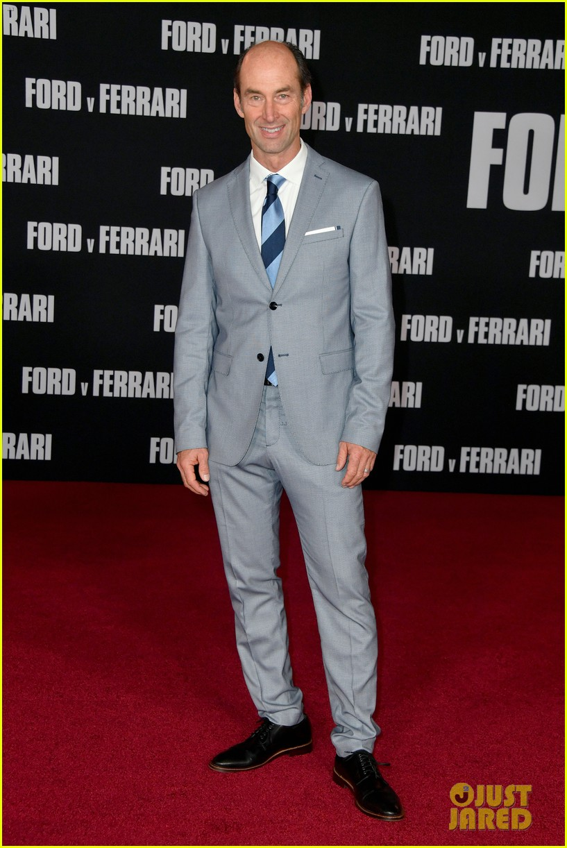christian bale matt damon suit up ford v ferrari premiere 074382257
